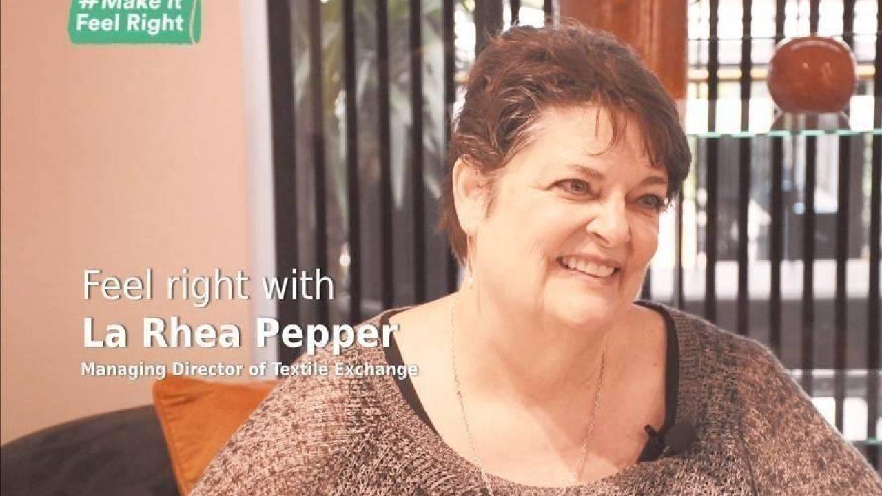 Feel Right With La Rhea Pepper